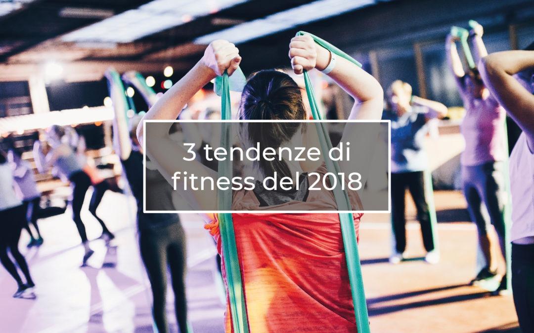 3 Tendenze di Fitness del 2018