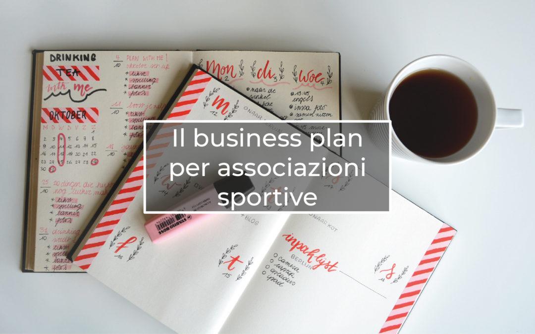 Il business plan per associazioni sportive