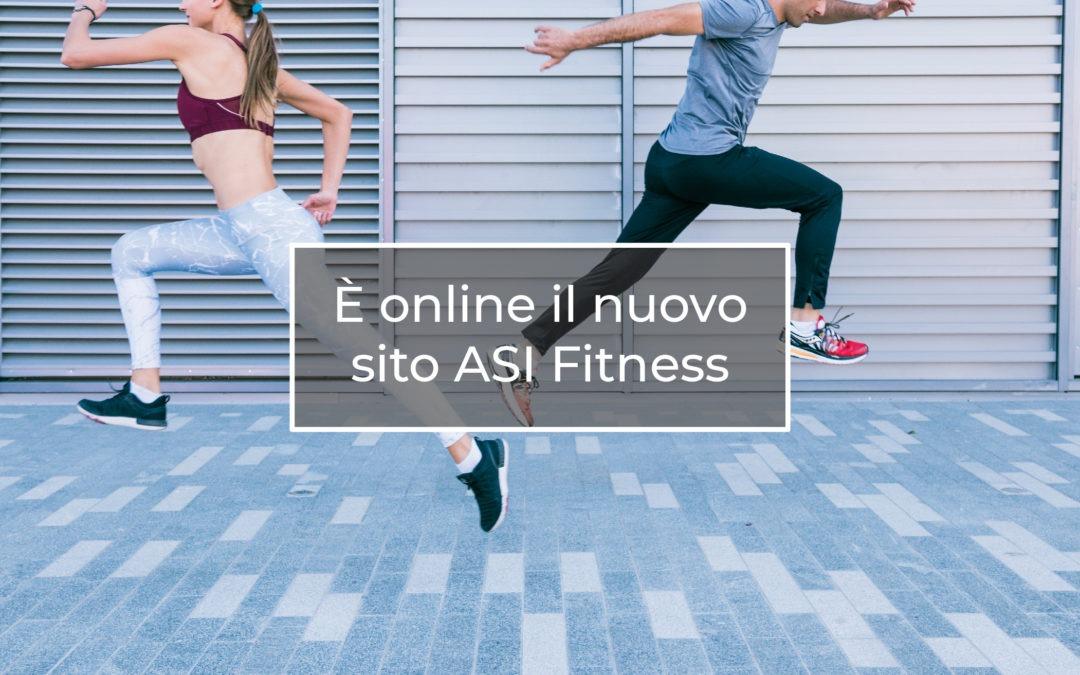 È online il nuovo sito ASI Fitness