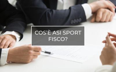 ASI Sport e Fisco un nuovo servizio di ASI Nazionale