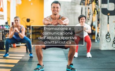 Promozione dell'attività sportiva dilettantistica