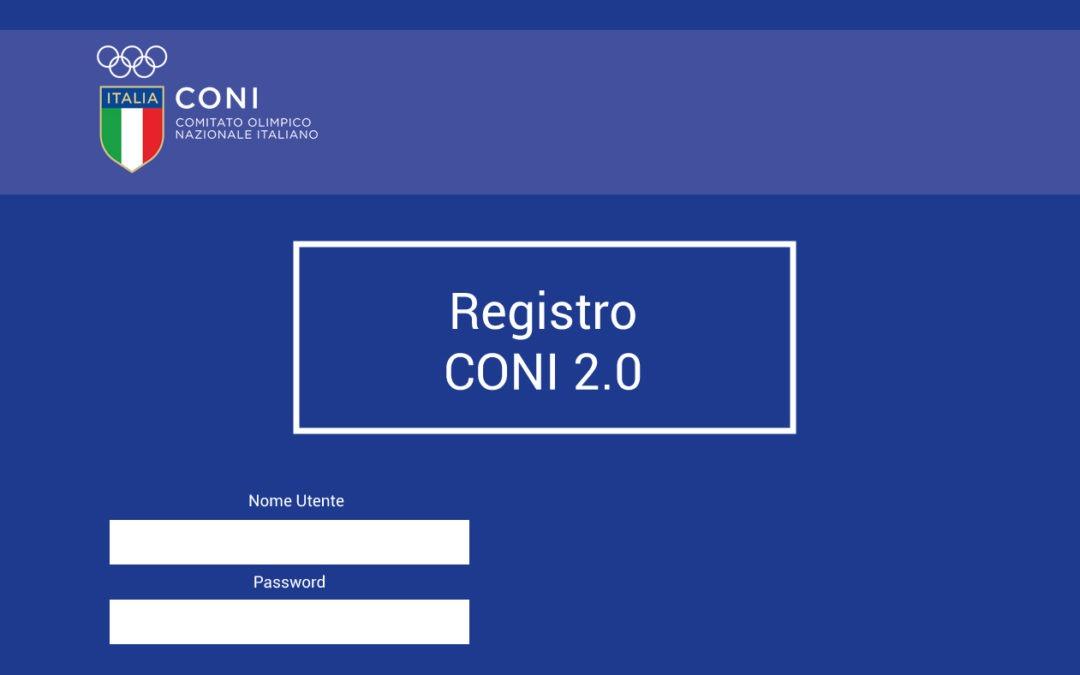 Registro CONI 2.0. Come registrare le attività già svolte?
