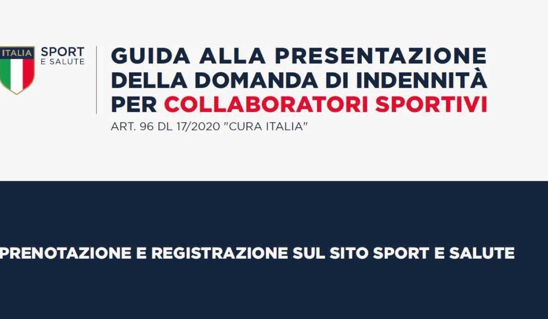 Guida alla presentazione della domanda di indennità per collaboratori sportivi